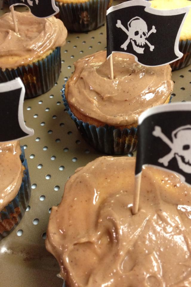 Gluten Free Cupcakes with Peanut Butter Frosting