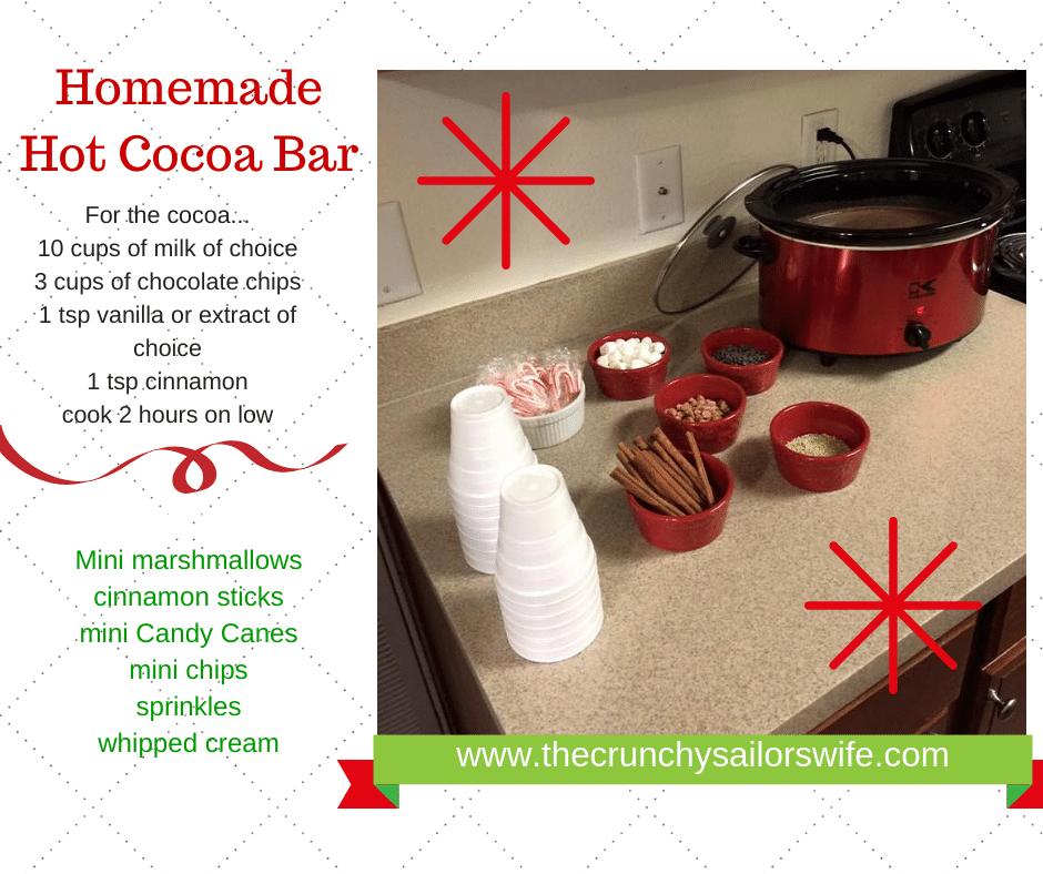 How to Make A DIY Hot Cocoa Bar