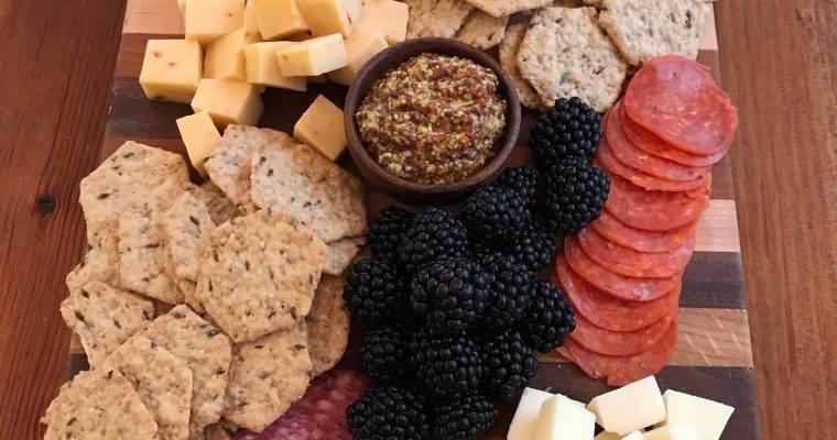 How to make a Beautiful Gluten Free Charcuterie Board