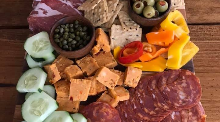 How to make a Mexican Inspired Charcuterie Board
