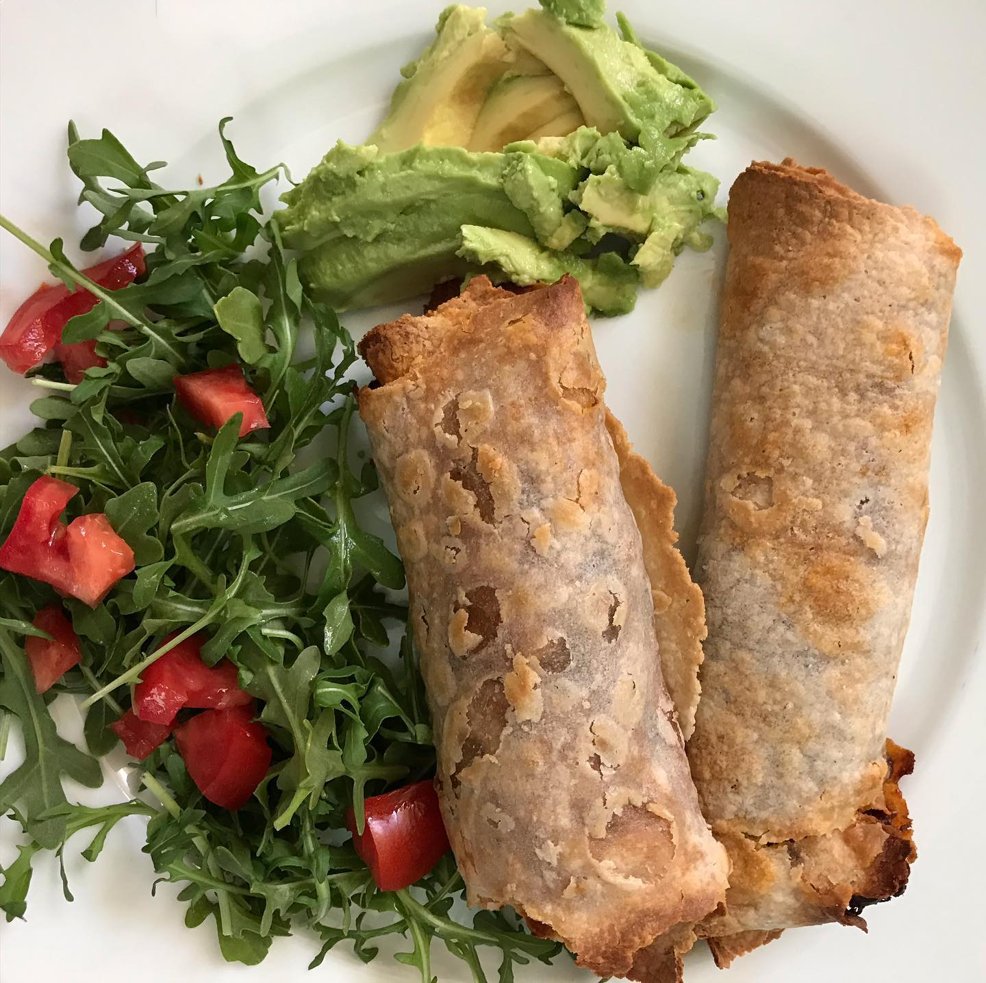 Gluten Free Taquitos with Chorizo, Black beans, and Kale